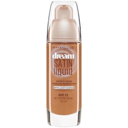 Maybelline Dream Satin Liquid Foundation 30ml - Toffee Beige 54