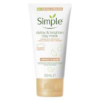 Simple Detox & Brighten Clay Mask - 50ml