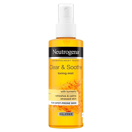 Neutrogena Clear & Soothe Toning Mist - 125ml