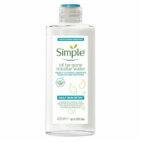 Simple Oil Be Gone Micellar Cleansing Water - 400ml