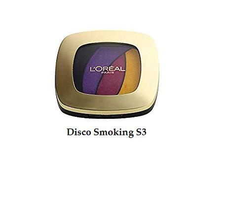 L'Oreal Quad Color Riche eyeshadow - Disco Smoking