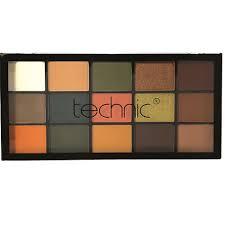 Technic 15 Eyeshadow Palette - shaken not stirred