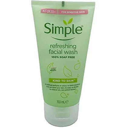 Simple Kind To Skin Refreshing Facial Wash Gel - 50ml