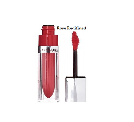 Maybelline Colour Elixir Lip Lacquer- Rose Redifine