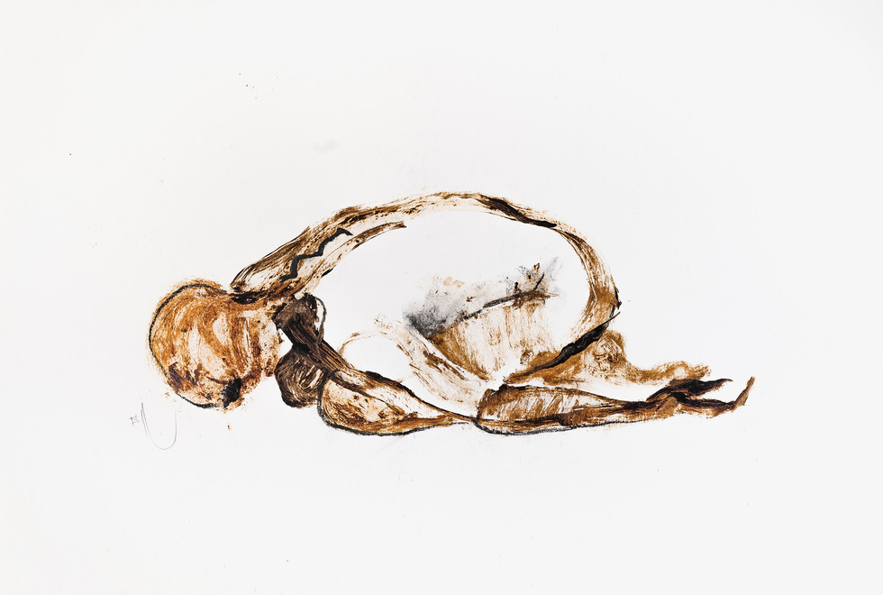 """UNTITLED"" [CHILD'S POSE] 