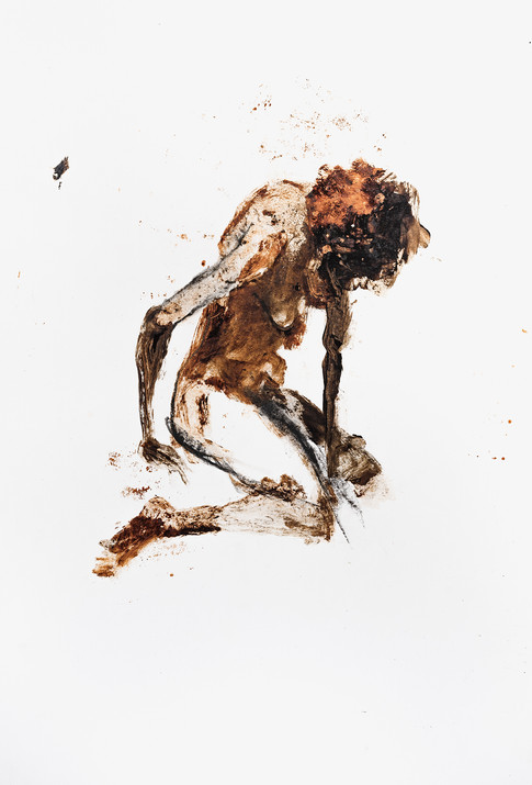 """UNTITLED"" [KNEELING WOMAN] 