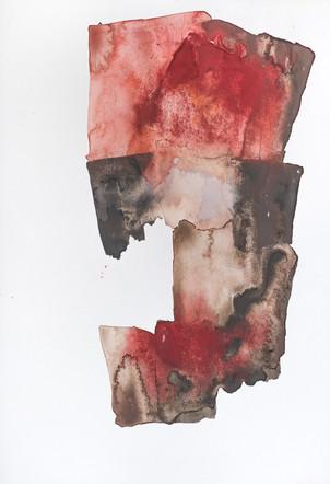 """TERROR"" [ARCHETYPE] | Watercolor, gouache & pencil on paper | 14,5 x 21,5 cm"