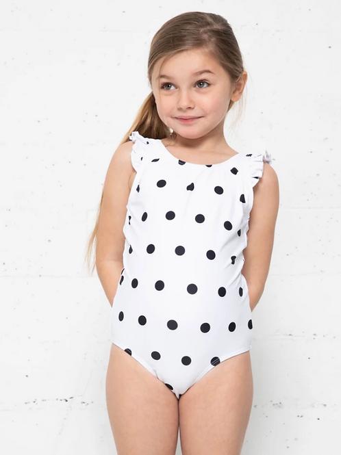 Viviana, Black polka dot