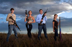 armed family