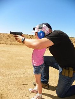 girl pistol