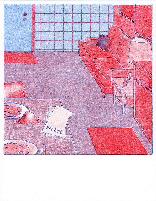 Cara's Forgotten Pork Chops Print