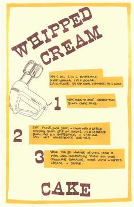 Whipped Cream Cake, 2019