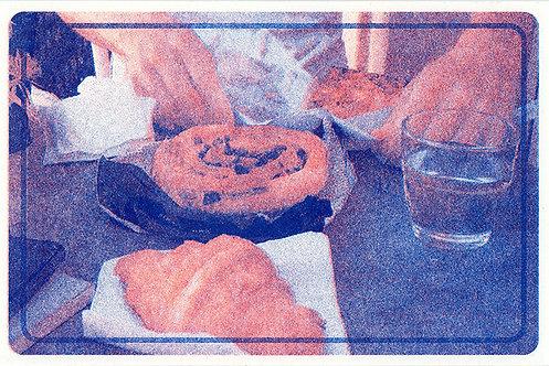 Paris postcard set