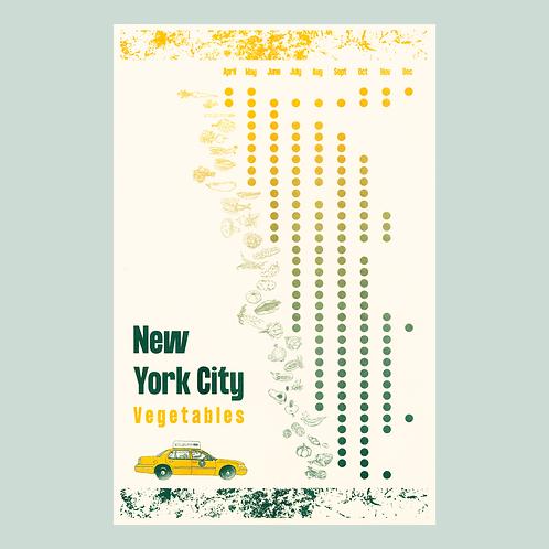 NYC Vegetables in Season