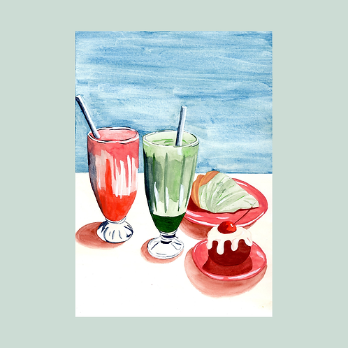 Sweets painting