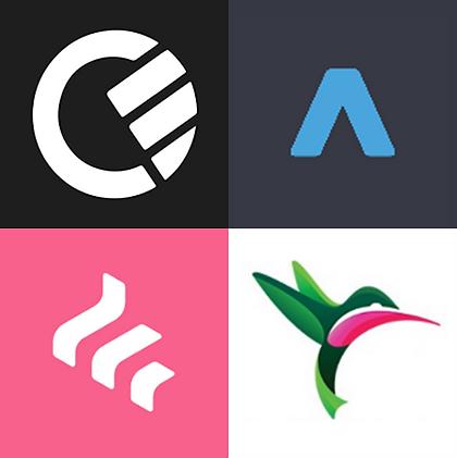 Logos of various referral companies