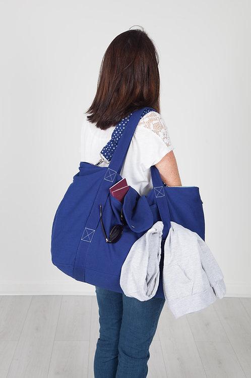 big bag - blue / grey