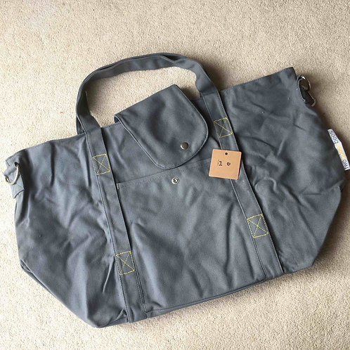 stitching fault (1a) - grey/yellow (no pouch bag)
