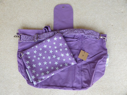 shoulder strap stitching (9) - purple