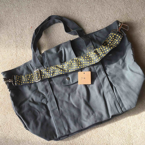 stitching fault (3a) - grey/yellow (no pouch bag)