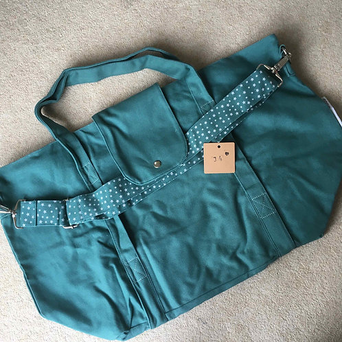 stitching fault (14a) - green (no pouch)