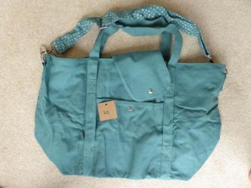 popper fault (42) - green (no pouch bag)