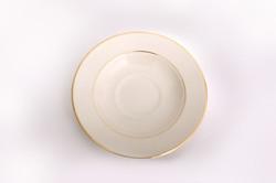 Ivory Gold Saucer