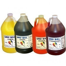 Fountain Syrup, Syrup for Snow Cones, Supplies