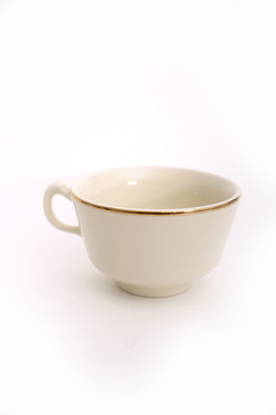 Ivory Gold Tea Cup