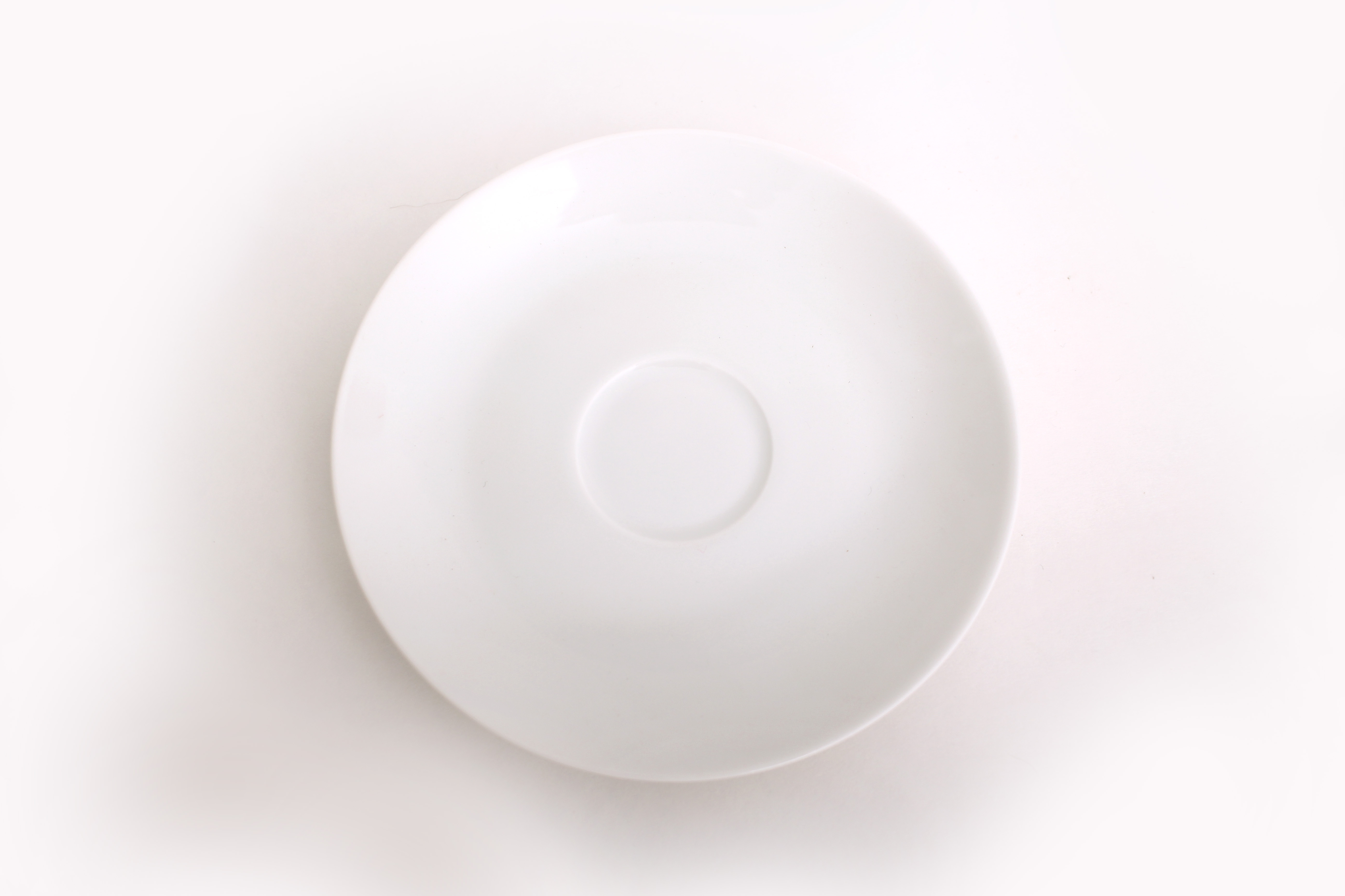 Classic White Saucer