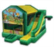 Jungle Combo Bounce House Rental