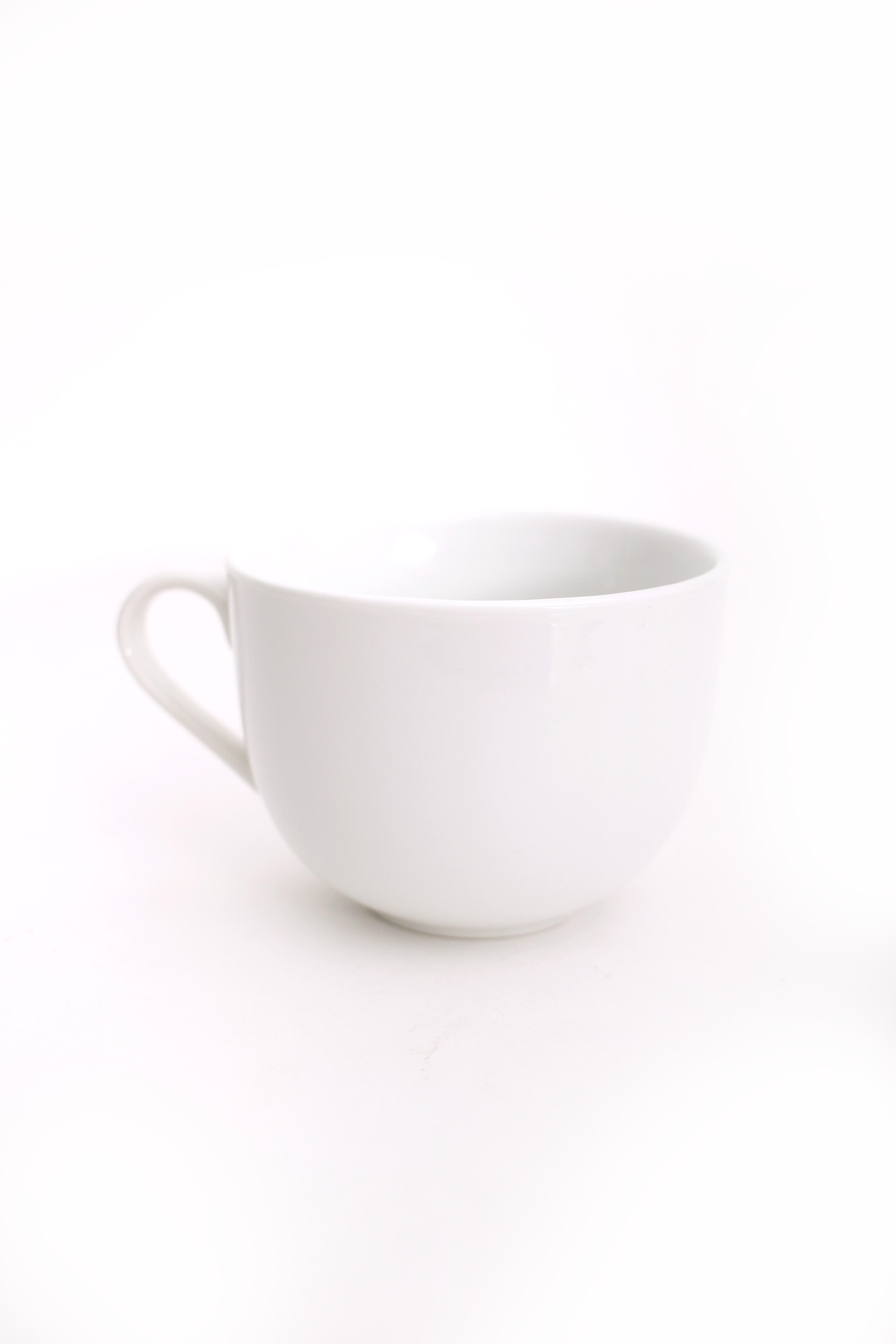 Classic White Tea Cup