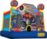 Racing Run Bounce House Rental