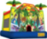Tropical Island Bounce House Rental