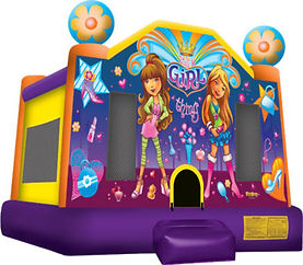 Girl Bounce House Rental