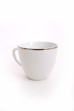 White Platinum Tea Cup