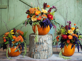 Pumpkin Inspired Centerpieces
