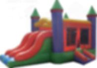 Mini Double Slide Bounce House