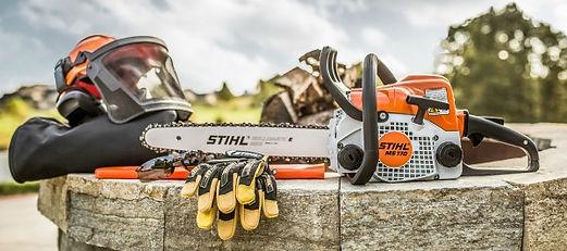 Stihl Dealer, Chain saw, gloves, protective gear, dealer A & Rental Center