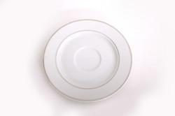 White Platinum Saucer