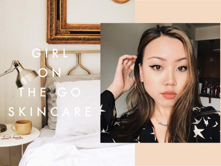 Girl on the Go Skincare Routine