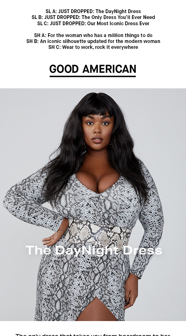 JUST DROPPED: The DayNight Dress