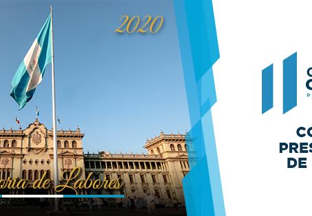 Ejercicio Fiscal 2020