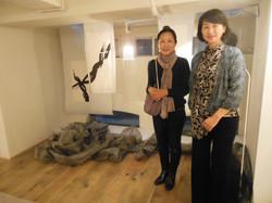 """Yoshiko Saito installation """"Roots"""""""