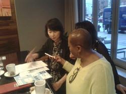 Yoshiko Saito interviewed for AnchorIMG_7951