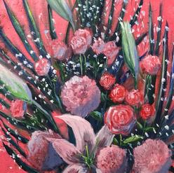 """Yuko Sato """"Carnations"""""""