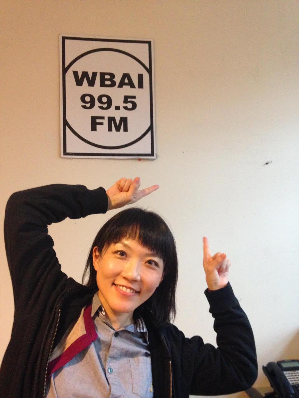 Keiko Tanaka on the radio show