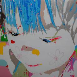 YuuchiTanaka- Happy34x34Acrylic,mixed media on board2021$3800.jpg