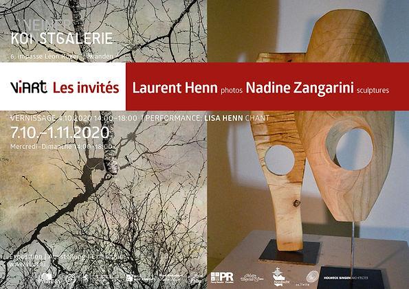 Viart Affiche Expo Laurent Henn Nadine Z