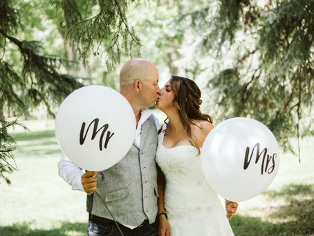 Mr. & Mrs. McKenzie - Medicine Hat Wedding